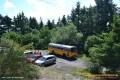 Oldtimer-Postauto-Bus Saurer/Tüscher 3DUK-50 ex P-24660 von www.schwyzer-poschti.de auf dem Steinerberg (Kesseling, Ahr - 6.2011 - Foto: Eltgen) - Kesseling / Ahrtal / Ahrbrück / Altenahr / Saffenburg / Adenau / Vulkaneifel