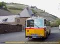Oldtimer-Postauto-Bus Saurer/Tüscher 3DUK-50 ex P-24660 von www.schwyzer-poschti.de vor dem Klostergut Marienthal / Ahr (5.2011 - Foto: Schwyzer Poschti) - Weinfahrten - Degustation - Rotweinwanderweg - Besichtigungen