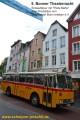 Oldtimer-Postauto-Bus Saurer/Tüscher 3DUK-50 ex P-24660 von www.schwyzer-poschti.de in der Sternstrasse Bonn, Bonner Theaternacht (7.2011 - Foto: Eltgen) - Städtefahrten: Euskirchen / Solingen / Remscheid / Wermelskirchen / Burscheid / Paffrath / Erkrath