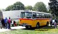 Oldtimer-Postauto-Bus Saurer/Tüscher 3DUK-50 ex P-24660 von www.schwyzer-poschti.de - Portalfest Wahnerheide - Gut Leidenhausen Köln (1.5.2018 - Foto: Schwyzer Poschti)
